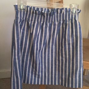 J. Crew Linen Sidewalk Skirt 🌸